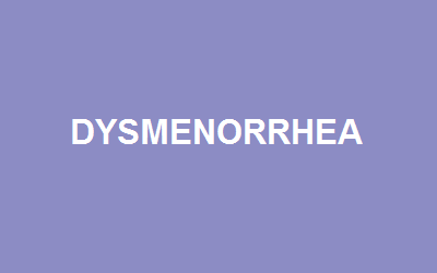What is Dysmenorrhea?
